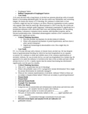 NURS 3120 Case Study Notes