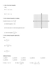 rational inequalities homework