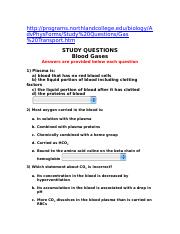 Study Questions Online
