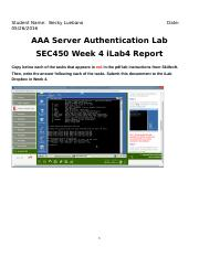 SEC450_W4_AAA_Server_Authentication_Lab4_Report