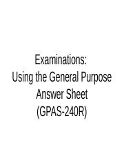 Instructions_General Purpose Answer Sheet.ppt