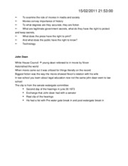 January 18th Notes--Class 2