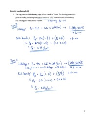In Class Exercise #16 - Density Log Example #3