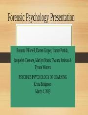 Team Final Forensic Psychology Presentation (1) (2) (1).pptx