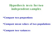 StatisticsLecture4B_HypothesisTest