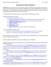 Jerral Murray - Integumentary System Worksheet .docx