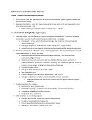 Student Services Outline- Chapters 1 and 2.docx