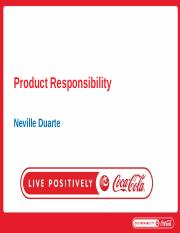 V-Product Responsibility