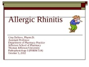 PHRM 514 Allergic Rhinitis Fall '12 (2)