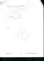 Applied Calculus Exam  #2