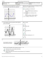 Section 2.5 Homework Continuity