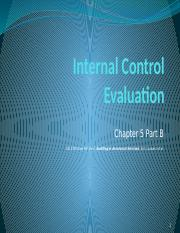 7Internal Control Evaluation.5 2016.pptx