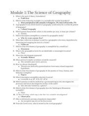 GE 112 QUIZ 1 Questions