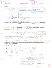 PHYS 2114 Exam 1 Fall 2011
