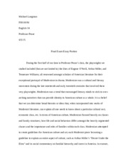 Pease Final Essay
