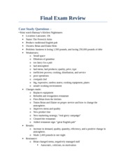 Final Exam Review-management final