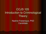 4-22-10 Social Control Theories