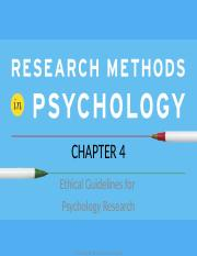 Ethical Guidlines for Psychology Research.ppt