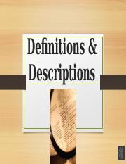 Definitions & Descriptions.pptx