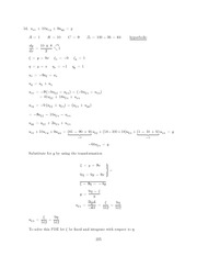 Differential Equations Lecture Work Solutions 225