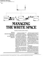 Lec 2-3 - B - Rummler and Brache (1991) Managing the white space