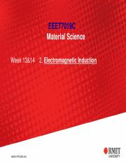 EEET7019C Material Science_Week13+14 (Electromagnetic Induction).pdf