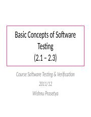 basicConcepts SW TEST