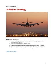 Aviation Strategy and Planning  1.docx