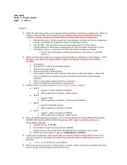 Immunology Exam 2 Chapters 3, 4 Study Guide.doc