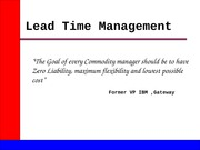 20847458-Lead-Time-Management