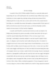 Historical Research Essay