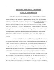 To Kill a Mockingbird Essay: Revised.docx