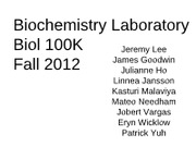 BiochemLabF2012.Lab1slides-1