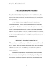 FINANCIAL+INTERMEDIARIES