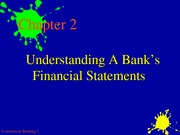 Bank Mgt. 5th Ed, Chapter 2