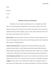 Child Abuse Prevention and Punishment.docx