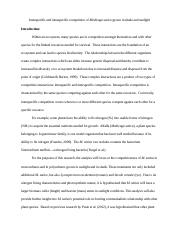 Ecology Paper2.doc