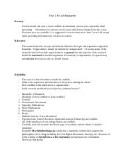 The 3 R's of Research handout and Source Citations[3]