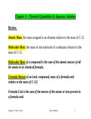 Chem 111 - Chapter 4 - Notes - Part 2.doc