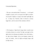 Conceptual Questions M8