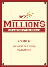 [SUMMARY] Management Chapter 4