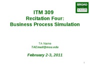 ITM309-Recitation4