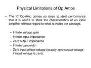Lecture2 Physical Limitations of Op Amps for Introduction to Laboratory.pdf