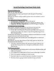 Social Psychology Final Exam Study Guide.docx