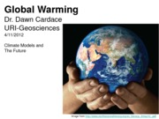 Chapter 9 Climate Models