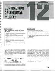 Ex 12 Skeletal Muscle Contraction