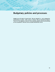 Chapter 4  Budgetary Policies And Processes