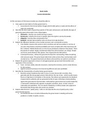 Study Guide Course Introduction Government.docx