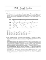 Homework 2 Solution on Multicasts
