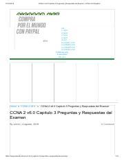 Ccna 2 V6 0 Capitulo 3 Preguntas Y Respuestas Del Examen Ccna V6 0 Espa U00f1ol Pdf Ccna 2 V6 0 Capitulo 3 Preguntas Y Respuestas Del Examen Ccna V6 0 Course Hero